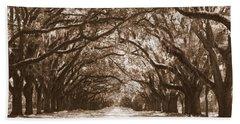 Savannah Sepia - Glorious Oaks Beach Sheet