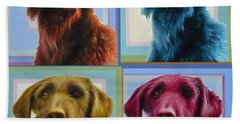 Savannah The Labradoodle Beach Towel