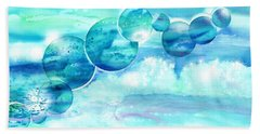 Planet Earth - Save Our Oceans Beach Towel