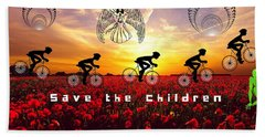 Save The Children Beach Sheet