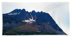 Sawtooth Alaska Beach Towel