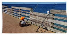 Say A Little Prayer Beach Towel by Debbie Oppermann