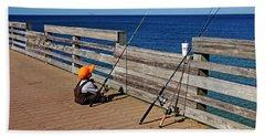 Say A Little Prayer Beach Sheet by Debbie Oppermann