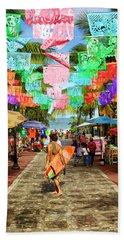 Sayu Flags 2 Beach Sheet