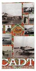 Scadta Airline Poster Beach Sheet