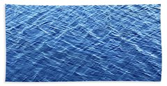Scanning For Alligators Beach Towel