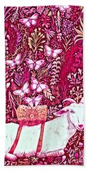 Scapegoat Healing In Fuchsia Beach Sheet