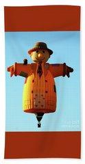 Scarecrow Balloon Beach Sheet
