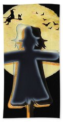 Scarecrow - Longing To Fly Beach Towel