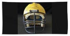 Scarred 1980s Wolverine Helmet Beach Sheet