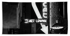 Scat Jazz Bw 11217 Beach Towel