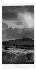 Scattering Clouds Over The Cronk Beach Towel