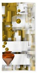 Beach Towel featuring the digital art Scene 1.1 by Alberto RuiZ