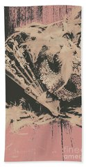 Scene From A Country And Western Cabaret  Beach Towel