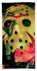 Scene From A Fright Night Slasher Flick Beach Sheet by Jorgo Photography - Wall Art Gallery