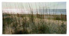 Scene From Hilton Head Island Beach Towel by Angela Rath