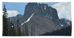 Mountain Scenery Hwy 14 Co Beach Towel