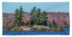 Beach Towel featuring the photograph Scenic Fall View by Paul Freidlund