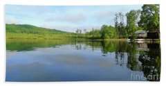 Scenic Gorham Pond #1 Beach Sheet