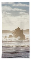 Scenic Marine Morning Beach Towel