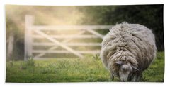 Sheep Beach Towel