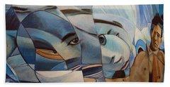 Schizophrenia Beach Sheet by Ron Richard Baviello