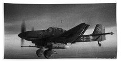 Ju87g-2 Kanonenvogel Beach Towel