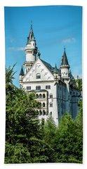 Beach Towel featuring the photograph Schloss Neuschwantstein by David Morefield