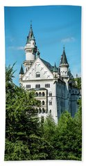 Beach Sheet featuring the photograph Schloss Neuschwantstein by David Morefield
