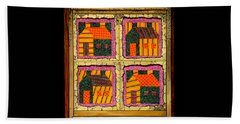 Schoolhouse Quilted Window Beach Towel