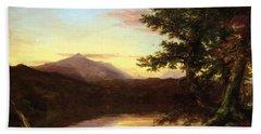 Schroon Lake 1840 Beach Towel