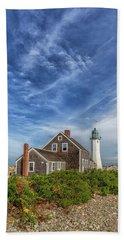 Scituate Lighthouse Boardwalk Beach Towel