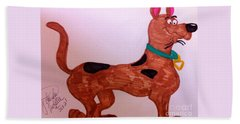 Scooby-doo Beach Sheet