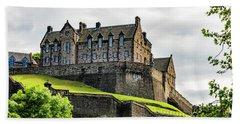 Scotland's Edinburgh Castle Beach Towel
