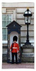 Scots Guard Buckingham Palace Beach Sheet