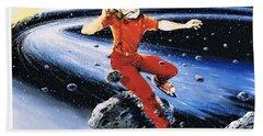 Scott Hamilton Skates The Stars Beach Sheet