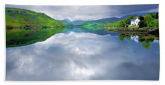 Scottish Reflection Beach Towel