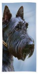 Scottish Terrier Dog Beach Sheet