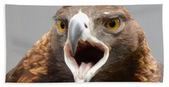 Screaming Eagle Beach Towel