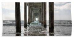 Scripps Pier Beach Towels
