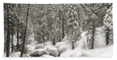 Sculpted Beach Towel