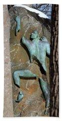 Sculpture Stony Brook New York Beach Sheet