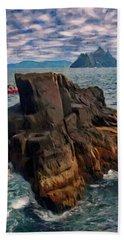 Sea And Stone Beach Towel