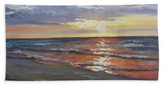Sea Beach 8 - Baltic Sunset Beach Towel