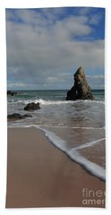 Sea Foam On Sango Bay Beach Towel