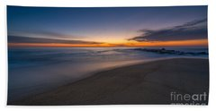 Sea Girt Sunrise New Jersey  Beach Towel