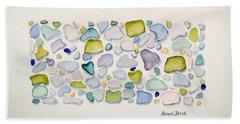 Sea Glass Puzzle - Follow Your Heart Beach Sheet