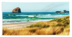 Sea-grass Dunes Beach Towel