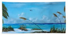 Sea Grass On The Key Beach Towel