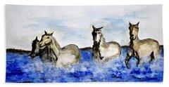 Sea Horses Beach Sheet